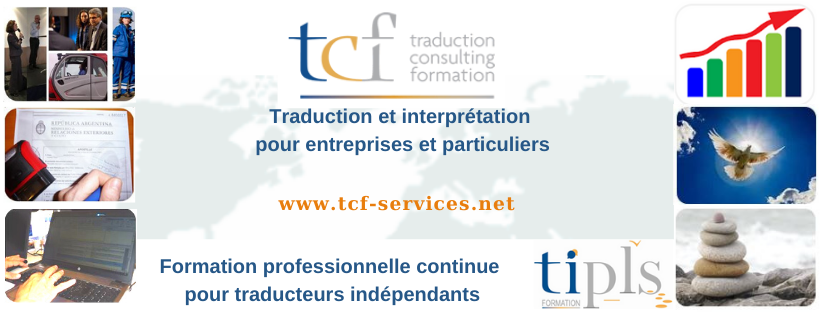 TCF Traduction Consulting Formation Clisson logo